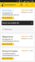 Screenshot of goldenpages.be