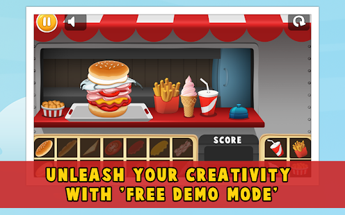 Chef Hamburger Maker APK for Bluestacks