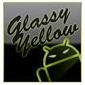 GOKeyboard Theme Glassy Yellow icon