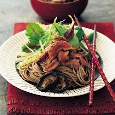 Seared Sirloin Steak With Soba