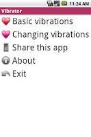 Screenshot of It Vibrates
