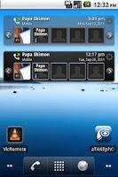 Screenshot of TAKEphONE widget