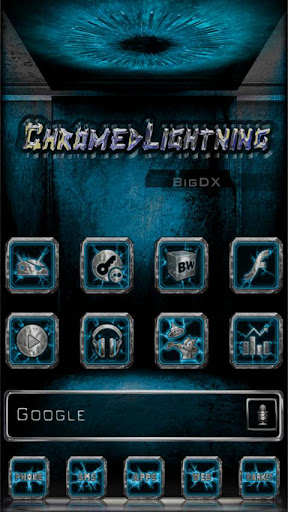 Chromed Lightning Multi Cyan
