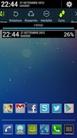 Screenshot of Jelly Bean Clock Widget UCCW
