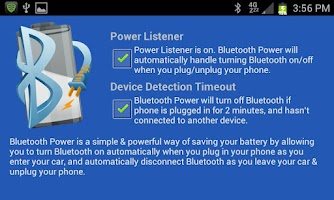 Screenshot of Bluetooth Power