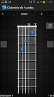 Screenshot of Chords Dictionary Guitar