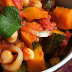Pumpkin and Chickpea Ratatouille