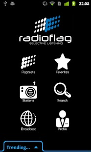 RadioFlag - screenshot
