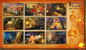 Screenshot of Hidden Object Enchanted Circus