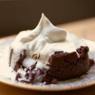 MOLTEN CHOCOLATE CAKE WITH MAPLE WHIPPED CREAM // VIDEO