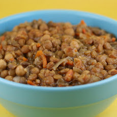 CrockPot Honey Lentils