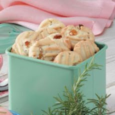 Rosemary Raisin Cookies