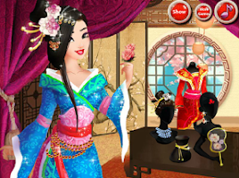 Screenshot of Asian Princess Makeover
