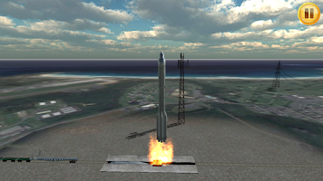 Screenshot of Simulateur De Fusée 3D