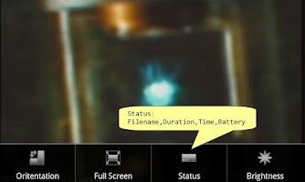 Screenshot of INoX MoviePlayer 1.02 (Trial)