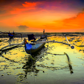 Boat by Bayu Adnyana - Transportation Boats ( bali, tuban, kelan, sunrise, transportation, boat )