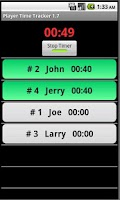 Screenshot of Player Time Tracker