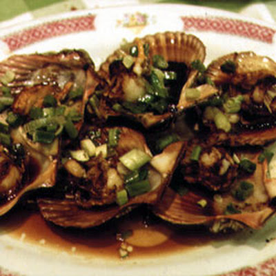 Stir-Fried Scallops