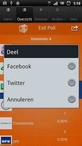 Exit Poll NL