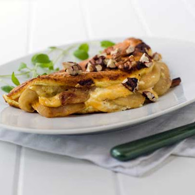 Gluten Free Apple Pie Omelette