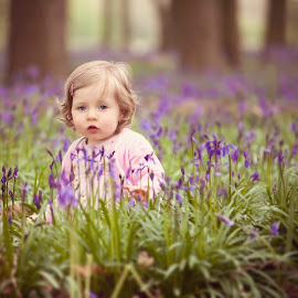 Little Lady in the Bluebells by Chinchilla  Photography - Babies & Children Toddlers