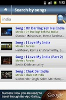 Screenshot of Shahrukh Khan Video Songs