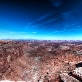Canyonlands by Dipali S - Landscapes Deserts ( mountains, barren, desert, canyonlands, utah, arid, sandstone, hot, rocks )