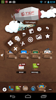 Screenshot of TSF Shell Leather Theme