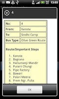 Screenshot of Jaipur Bus Info
