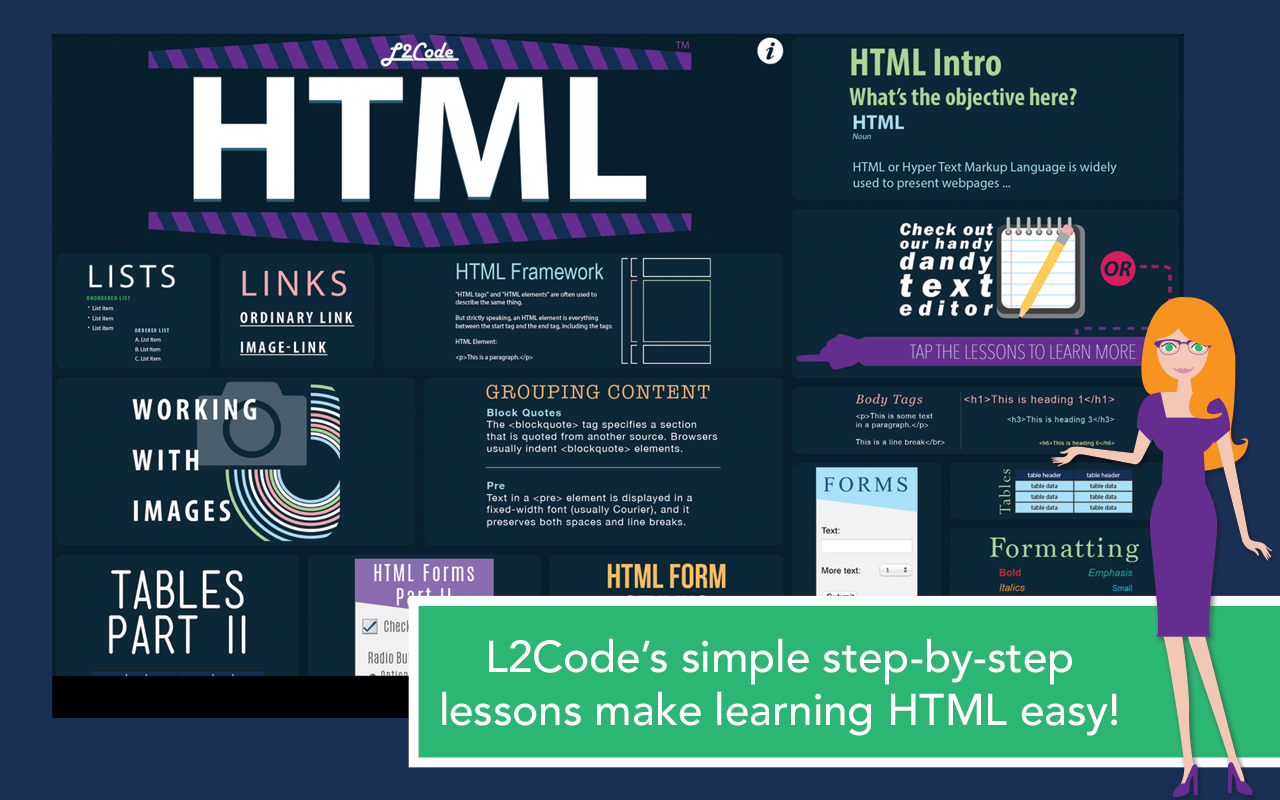 L2Code HTML – Learn to Code! Screenshot 5