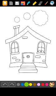 Houses Coloring Games - screenshot