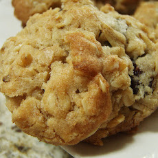 Soft Chewy Raisin Cookies