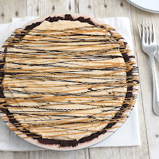 Frozen Chocolate-Peanut Butter Pie