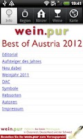 Screenshot of wein.pur Best of Austria 2012
