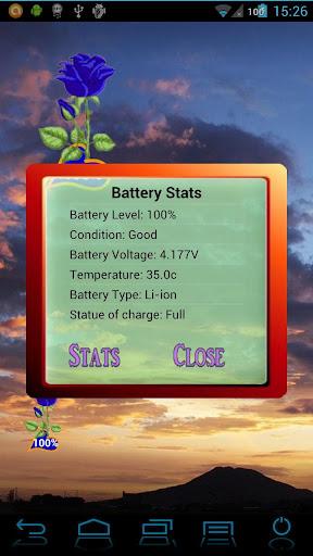 無料工具Appの薔薇のバッテリー ウィジェット Rose|記事Game