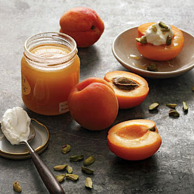 Apricots, Yogurt, and Honey