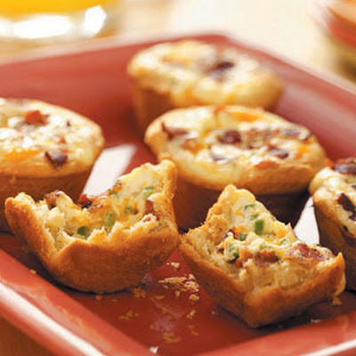 Bacon Quiche Tarts