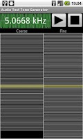 Screenshot of Audio Test Tone Generator