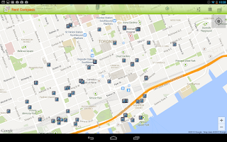 Screenshot of Apartment Rentals in Canada