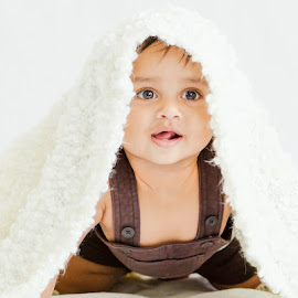 Olive by ClickMyPix Photography - Babies & Children Babies ( blanket, infant, brown, kids, baby,  )