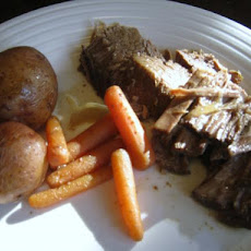 Sweet and Sour Beef Pot Roast in the Slow Cooker