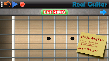 Screenshot of Real Guitar