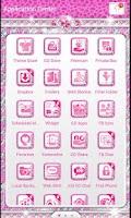 Screenshot of ♦BLING Theme♦ Pink Cheetah SMS