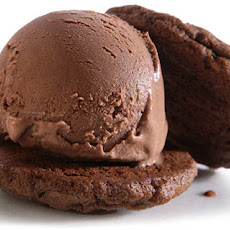 Double Chocolate Fudgy Ice Cream Sandwiches Recipe