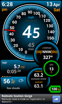 gps speed apps for android