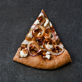 Pear, Pecan, and Goat-Cheese Pizza (A Sweet Slice)