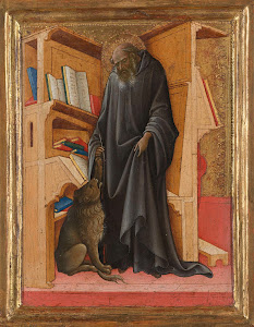 RIJKS: Lorenzo Monaco: Saint Jerome in his Study 1420