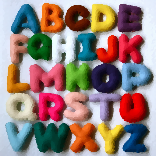 教育のアルファベット、数字、色 LOGO-記事Game