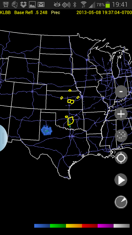 Radar Alive Pro Weather Radar Screenshot 3