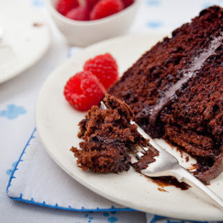 Chocolate Cake With Pudding Filling Recipes